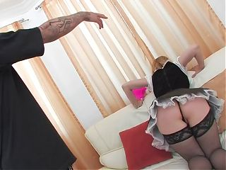 French Maid MILF