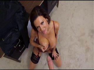 big titty milf pov