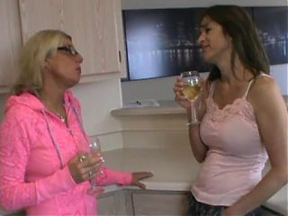 Two horny MILFs try out young guy