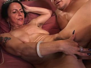 14 Hairy mature Miss Nina Swiss