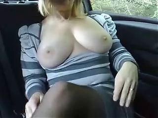 Dogging in the back seat