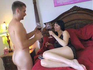 Mom and Stepson's Last Fuck