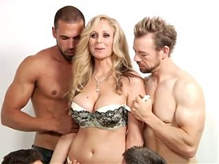 Julia First DP Anal, vaginal, & gangbang
